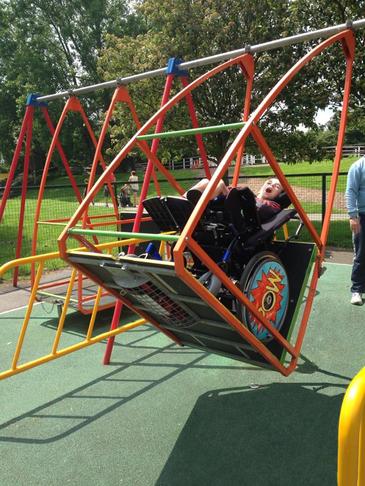 Wheelchair play equipment