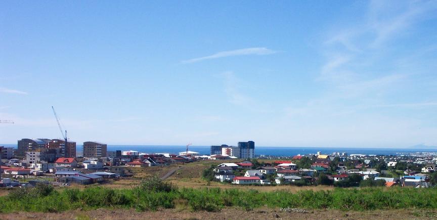 Hugmynd af íbúafundi í Vatnsenda. Áningastaður.