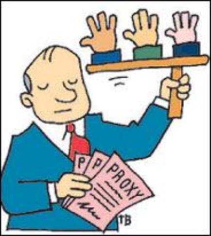 Voting proxies