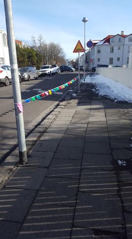 Bætt umferðaröryggi við Laufásborg