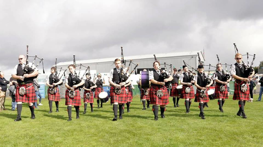 Rothesay & District Pipe Band - tuition for young people