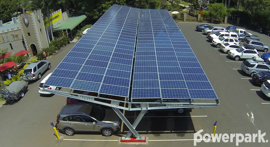 Solar Energy in Parking Areas & Factories