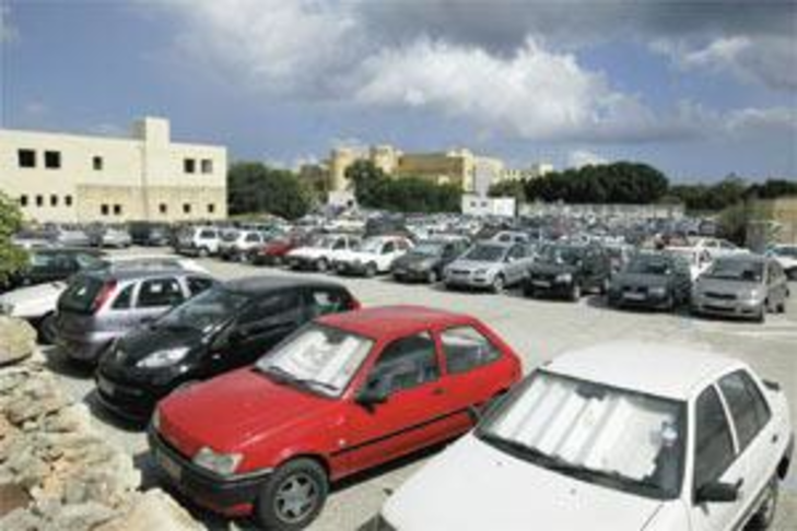More Parking spaces at the university of Malta