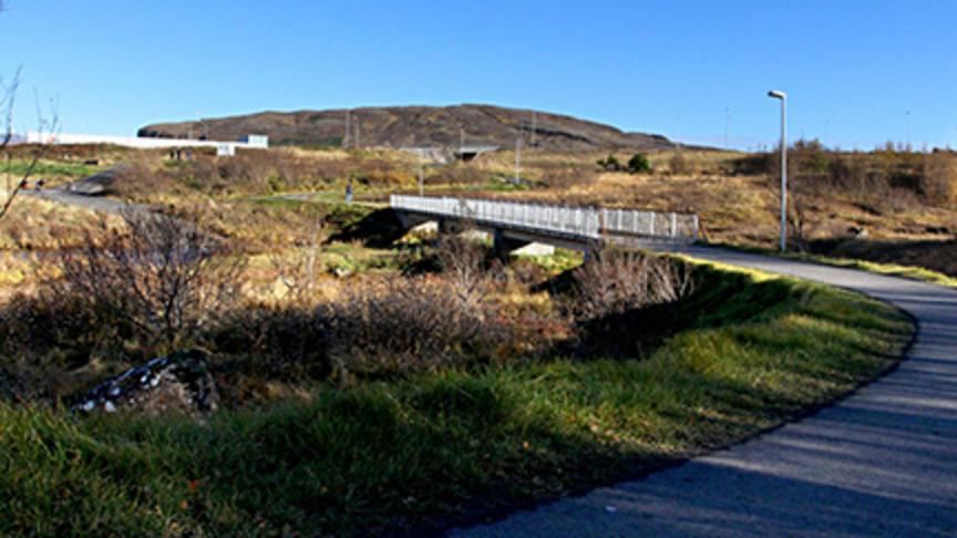 Kastali á ónýttu svæði á Klambratún
