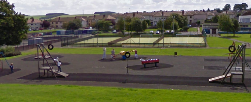 New Community Park in Ballingry