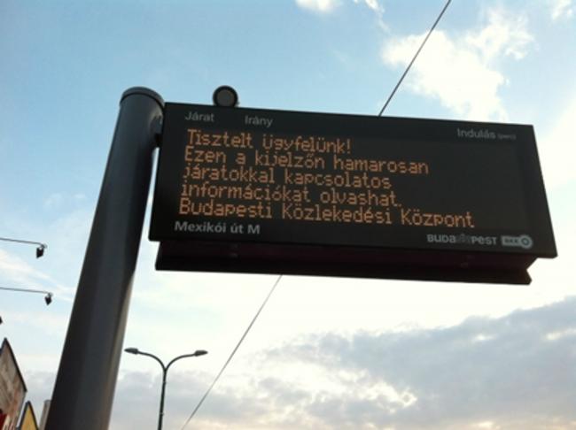 Utastájékoztatás fejlesztése - Duna parti tippek