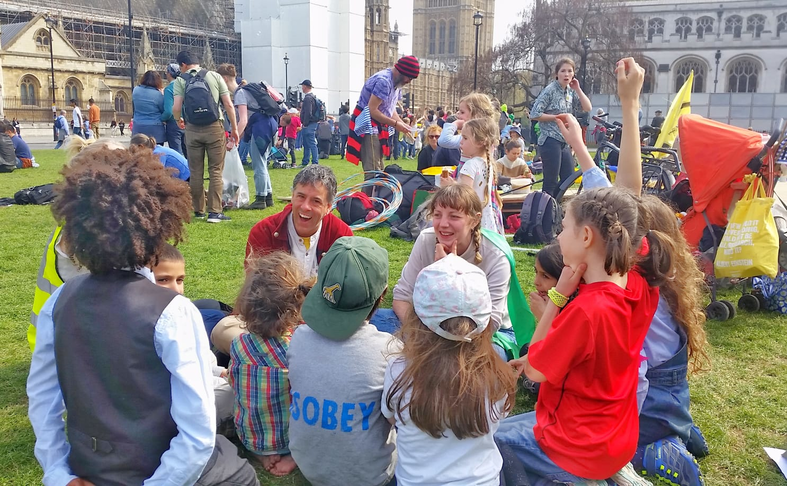 Children's Assembly Parliament Square 18/04