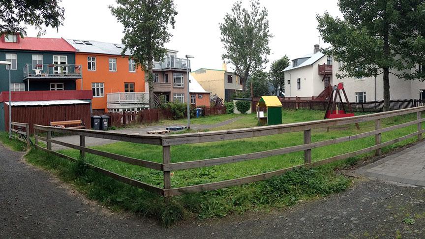 Leikvöllur við Bjarnarstíg