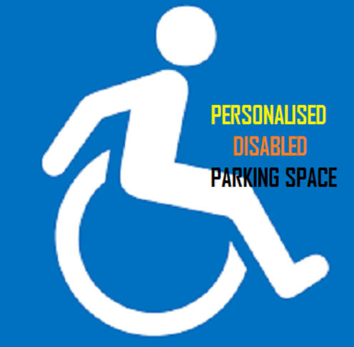 PERSONAL DISABLED RESERVED PARKING IN RESIDENTIAL AREAS