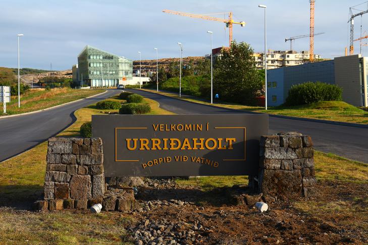 Gangbrautir í Urriðaholt