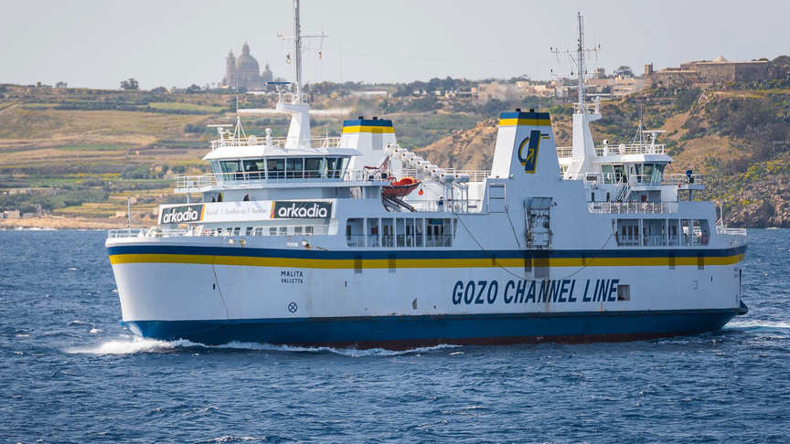 Fast Ferry between Malta & Gozo within a year