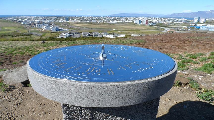 Guðmundarlundur - útsýnisstaður
