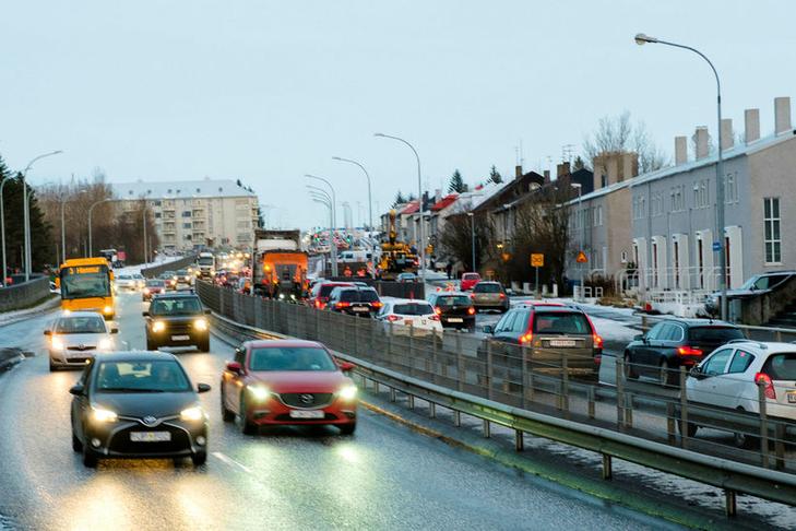 Strætóskýli við Klambratún
