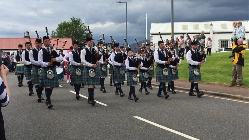 Mid Argyll Pipe Band