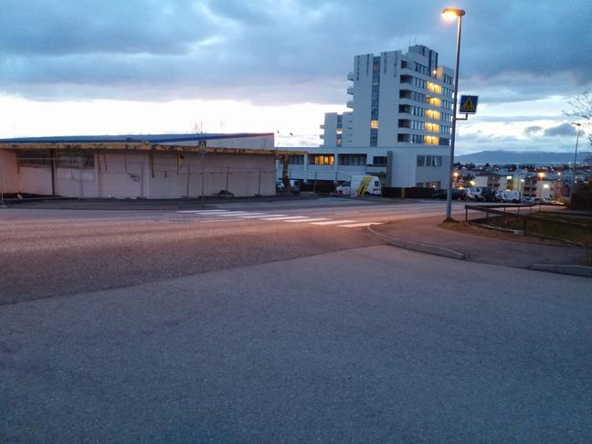 Hraðahindrun í Þverbrekku