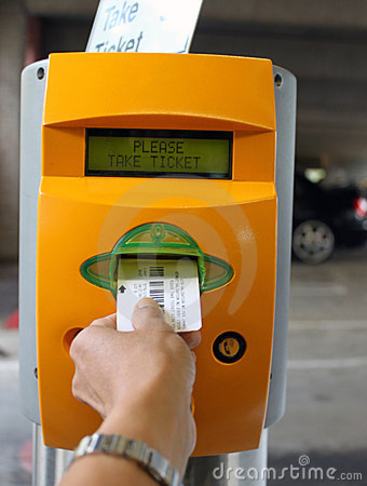 PARKING TICKET BOOTHS/MACHINES DISABLED PERSON USER FRIENDLY