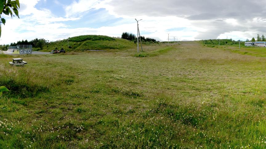 Frágangur við Jafnasel/ Skíðasvæði